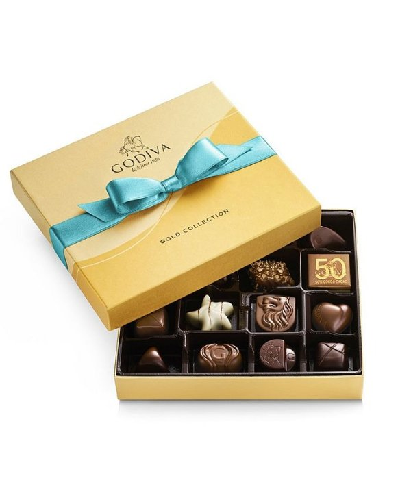 什锦口味巧克力松露19颗装礼盒
