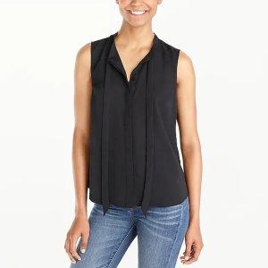 J.CrewSecretary top : FactoryWomen Shirts & Tops | Factory