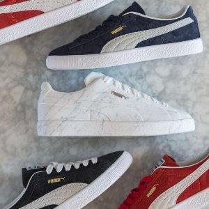 低至5折 £9起入Puma 季中大促 运动鞋、服饰、配饰 联名款、经典厚底鞋好价入