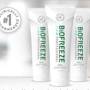 现价$25.37(原价$29.86)新款 Biofreeze 止痛舒缓凝胶 4oz 3支