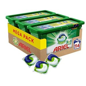Ariel All in1 PODS 洗衣球 3盒装共114个 特价