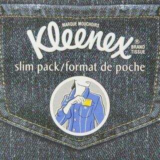 现价$1.97(原价$2.87)白菜价:Kleenex 便携口袋纸巾 10张*6包 仙女包包里必备