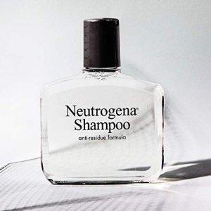 $3.99(原价$6.99)Neutrogena 露得清 Anti-Residue去残留洗发水 350ml