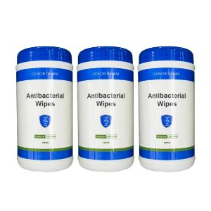 Portable Cleaning Wipes 8 Sets of 3