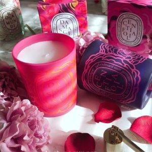 低至75折!做精致的女孩~Diptyque香氛蜡烛热卖 情人节系列折扣收