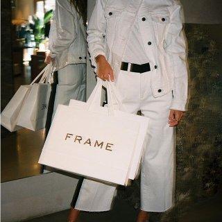 低至5折 $102起Frame 秋冬美衣热卖 经典牛仔裤$119,牛仔上衣$138