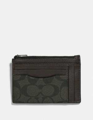 Multiway Zip Card Case in Signature Canvas | COACH