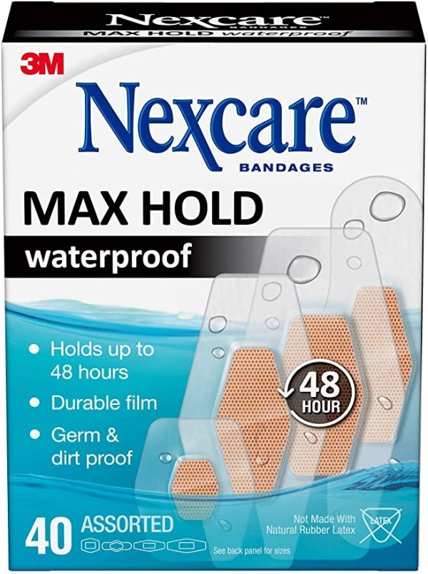 Nexcare 3M 透明防水创可贴 40片