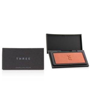 THREE - Cheeky Chic Blush - # 08 Eternal Traveller (Taupe Beige) - Cheek Color | Free Worldwide Shipping | Strawberrynet USA