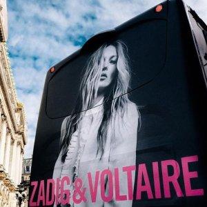 低至5折 刘雯也爱的吊带裙Zadig & Voltaire 私促火热开启 朋克风满满的个性美衣等你收