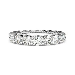 via exclusive coupon code 2CER2.00 Carat Round Lab Diamond Eternity Ring