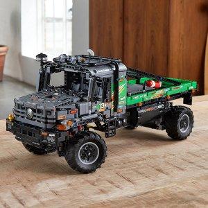 6折起LEGO乐高 科技组大全 收新品梅赛德斯·奔驰全驱卡车