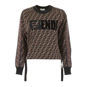 a6e1322a8 Fendi Mania Zipped Clutch Bag. FendiMonogram Sweater
