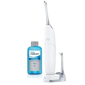 Philips Sonicare 便携式空气牙线+漱口水 加强口腔健康