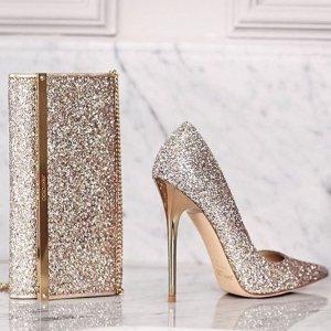 低至5折+最高$750礼卡Jimmy Choo 美鞋热卖 收超美渐变、亮片鞋