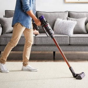 DysonCyclone V10 Absolute Cordless Stick Vacuum Cleaner (Blue/Nickel)  