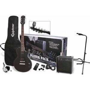 $242.67Epiphone Les Paul 电吉他初学者套装 含耳机 琴架 电箱等