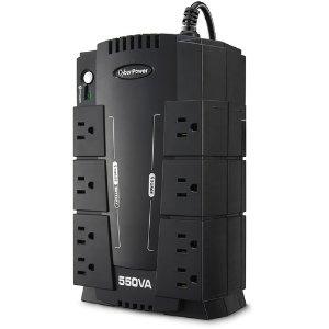 $39.99 + $5礼卡CyberPower CP550SLG 备用电源插座