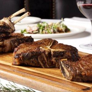 38折 2款套餐可选 配葡萄酒2k Steak House 性价比超高的牛排套餐 双人£27