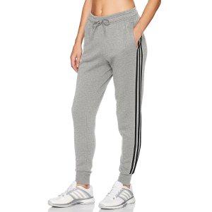 From $17.49adidas Women's Athletics Essential Cotton Fleece 3-Stripe Jogger Pants
