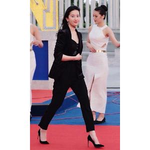 刘亦菲同款CURVIA 高跟鞋