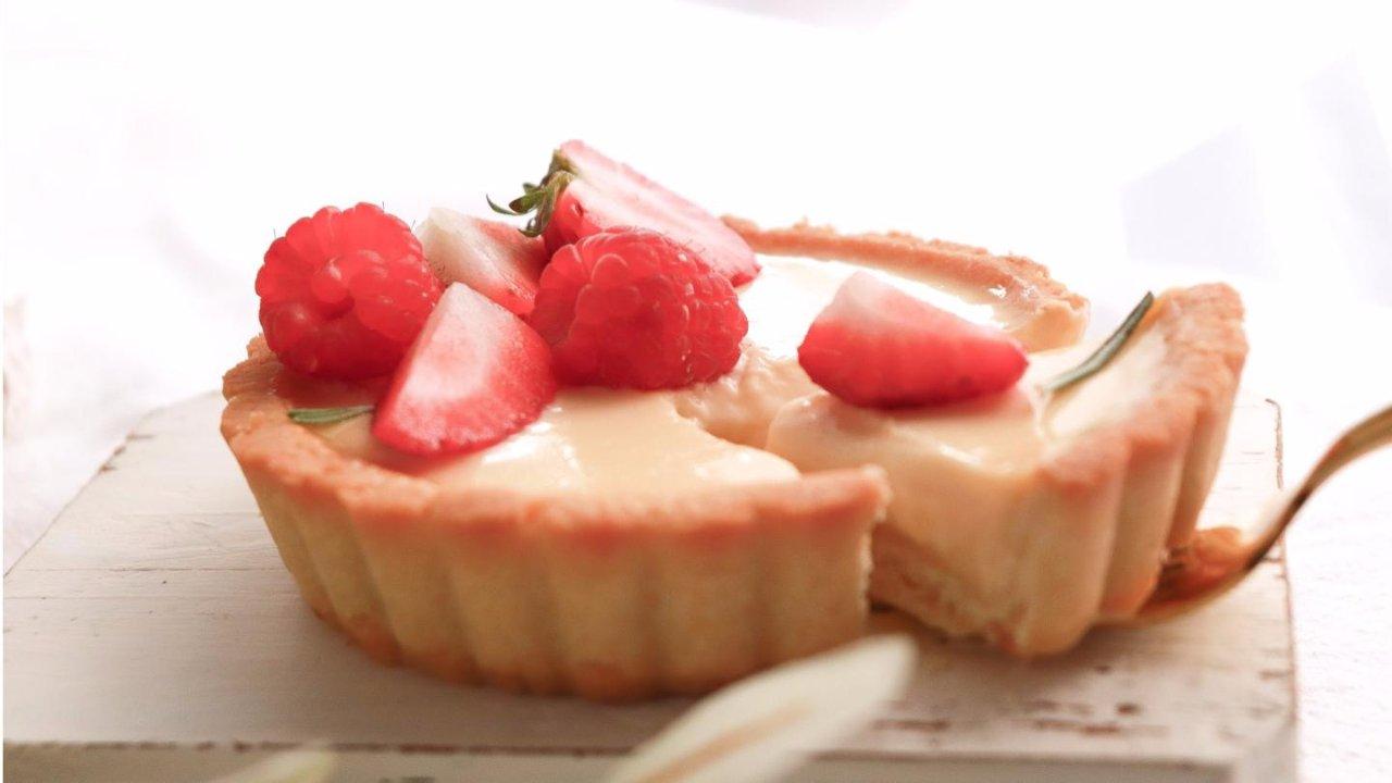 春季清爽甜点🍓草莓布丁挞🍮简单0失败新手友好