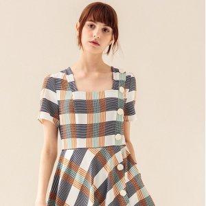 4折起 £22起就收小裙子Miss Patina 连衣裙大促 春夏新款印花裙 经典英伦风美裙在线