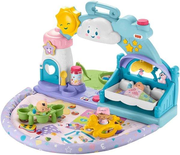 Fisher-Price 儿童游戏垫 一起来过家家