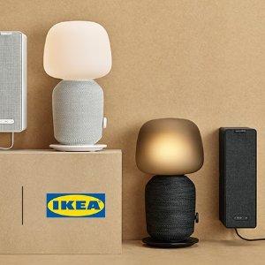 台灯音箱合2为1上新:Sonos x IKEA SYMFONISK 系列无线音箱今日发售
