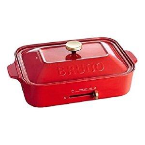 Bruno烤盘+章鱼烧盘多功能电烤盘