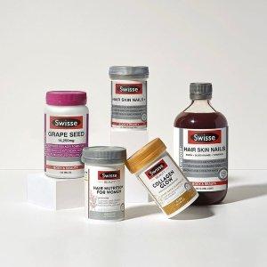 全场6折 胶原蛋白粉买1送1最后一天:Swisse官网保健品大促 护肝排毒片$7.41、葡萄籽精华$21