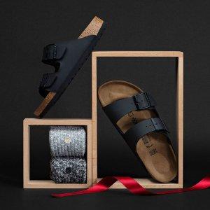 低至8折+免邮Birkenstock 舒适百搭拖鞋促销