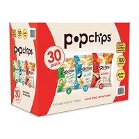 Popchips 低热量非油炸薯片 混合口味30包