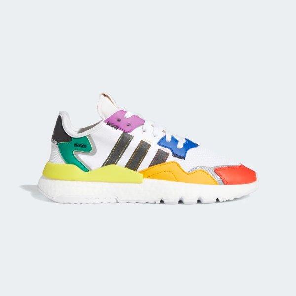 Nite Jogger Pride 彩虹色运动鞋