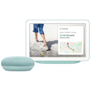 湖蓝色 Nest hub+google mini