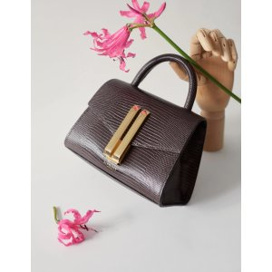 DeMellier LondonCrossbody Bag Nano Montreal In Brown Leather