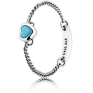 满£125送手链PANDORA爱心戒指