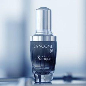 8.5折+送好礼+包邮Lancôme 全场美妆护肤热卖 收小黑瓶、超值套装