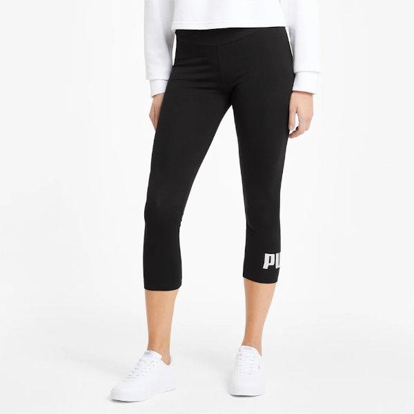 Essentials 女款七分运动裤