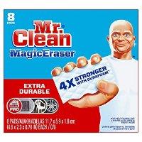 Mr Clean 4倍强效魔法清洁海绵 8个装