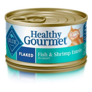 As Low as $13.38Blue Buffalo Healthy Gourmet Natural Adult Flaked Wet Cat Food