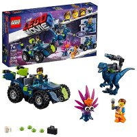 Lego The Movie 2 Rex的3合1战车 70826