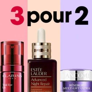 买3免1=变相6.7折闪购:Sephora 全场护肤超好价 收Lancome、Sisley等大牌
