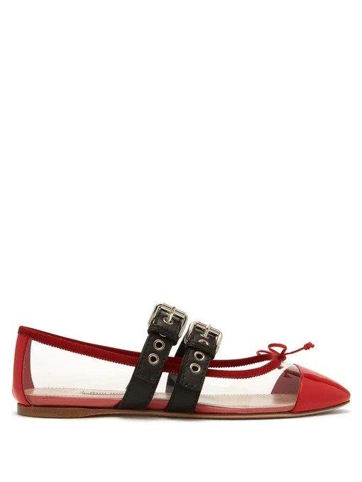 蝴蝶结芭蕾鞋