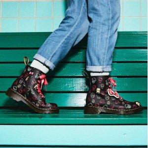Dr. Martens有34/35码大童款马丁靴