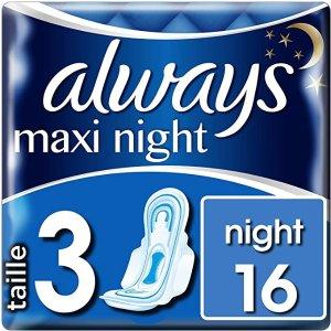 always3号夜用卫生巾-16片