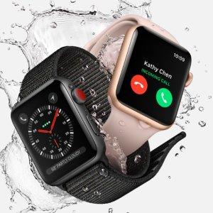 68折 包含充电器Apple Watch三代翻新手表 颜色全折扣热卖 £169起