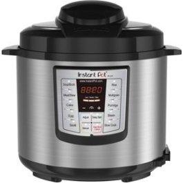 Instant Pot LUX80 8 Qt 6-in-1 Multi-Use Programmable Pressure Cooker, 8 Quart