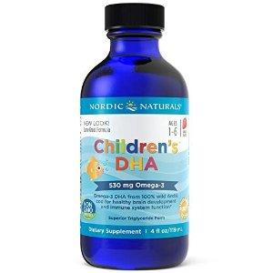 - 儿童 DHA, 增强免疫, 4 盎司