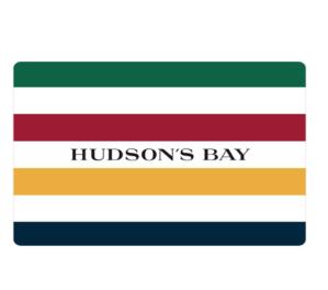 $90(原价$100)Hudson's Bay 礼卡促销特卖